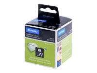 DYMO LabelWriter Address - Permanet adhesiv - hvit - Rull (8,9 cm x 2,8 m) 26...