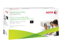 Xerox - svart - original - tonerpatron (alternativ for: HP Q6000A)