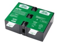 APC Replacement Battery Cartridge #124 - UPS-batteri - 1 x blysyre - for P/N:...