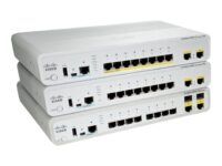 Cisco Catalyst Compact 2960CPD-8TT-L - switch - 8 porter - Styrt