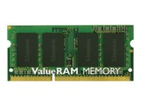 Kingston ValueRAM - DDR3 - 4 GB - SO DIMM 204-pin - 1600 MHz / PC3-12800 - CL...