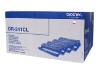 Brother DR241CL - Svart, gul, cyan, magenta - original - trommelsett - for Br...