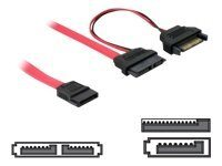 DeLOCK SATA Slimline ALL-in-One cable - SATA-kabel - Serial ATA 150 - Slimlin...