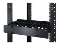APC Horizontal Cable Manager Single-Sided with Cover - Rackkabelstyringspanel...