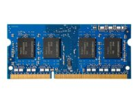 HP - DDR3 - 1 GB - SO DIMM 144-pin - 800 MHz / PC3-6400 - ikke-bufret - ikke-...