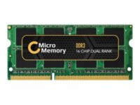 MicroMemory - DDR3 - 4 GB - SO DIMM 204-pin - 1333 MHz / PC3-10600 - ikke-buf...