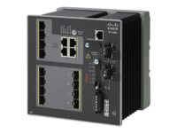 Cisco Industrial Ethernet 4000 Series - switch - 12 porter - Styrt