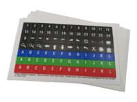 P.I. Engineering X-keys Pre-Printed Legends - Tastaturtast-etiketter (en pakk...