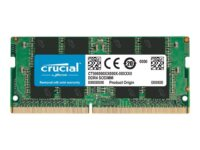 Crucial - DDR4 - 4 GB - SO DIMM 260-pin - 2400 MHz / PC4-19200 - CL17 - 1.2 V...