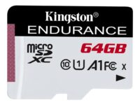Kingston High Endurance - Flashminnekort - 64 GB - A1 / UHS-I U1 / Class10 - ...