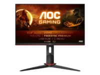 AOC Gaming 24G2ZU/BK - LED-skjerm - Full HD (1080p) - 23.8""