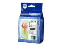 Brother LC3213 Value Pack - 4-pack - svart, gul, cyan, magenta - original - b...