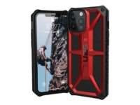 UAG Rugged Case for iPhone 12 Pro Max 5G [6.7-inch] - Monarch Crimson - Baksi...