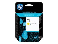 HP 11 - Fargestoffbasert gul - skriverhode - for Business Inkjet 1000, 1200, ...