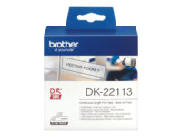 Brother DK-22113 - Blank - Rull (6,2 cm x 15,2 m) film - for Brother QL-1050,...