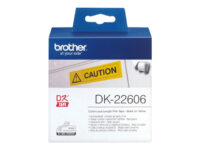 Brother DK-22606 - Gul - Rull (6,2 cm x 15,2 m) film - for Brother QL-1050, 1...